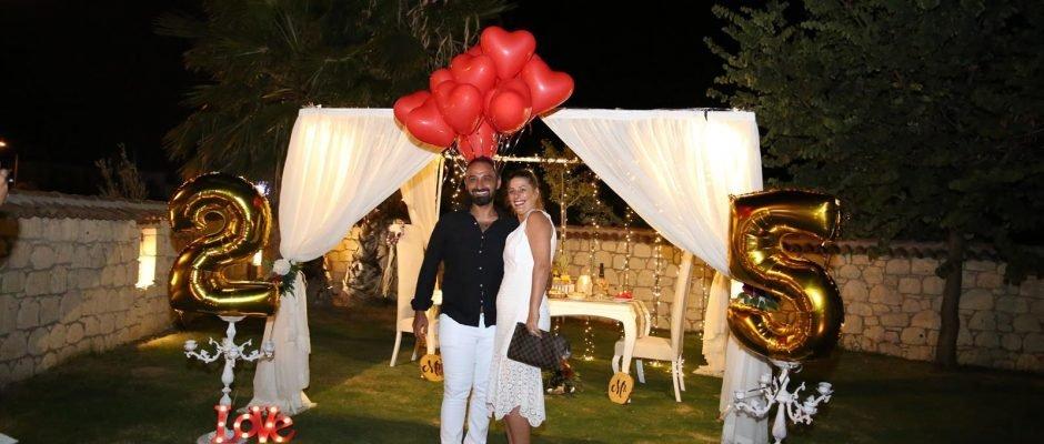 Evlilik Yıl Dönümü Organizasyonu Bodrum
