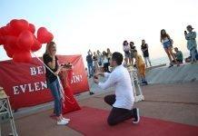 Sürpriz Evlilik Teklifi Organizasyonu Bodrum